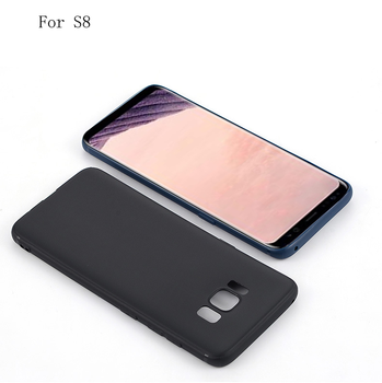 Hot Selling Mobile Back Cover Matte TPU Phone Case For Samsung s8 s9 note 8
