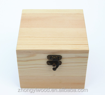 FSC BSCI SA8000 Natural handmade elegant gift package unfinished customized wooden jewelry display box