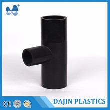 polyethylene fitting PE PEHD Pipe Fittings reducing tee fittings