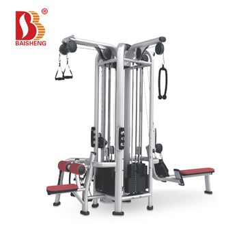 Frame Color Cutsomized Pure Commercial Multi Gym Equipment Jungle Gym for Sale