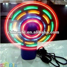2012 london olympic led usb input led message fan