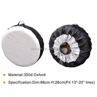 Durable Polyester Oxford 300D Car Wheel Cover Spare Car SUV MVP Tire Cover