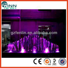 10 years fountain factory supply LED light outdoor garden fountain
