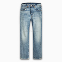 wholesales funky jeans new model brand name men straight denim vintage jeans pants trouser distressed classical jeans for men
