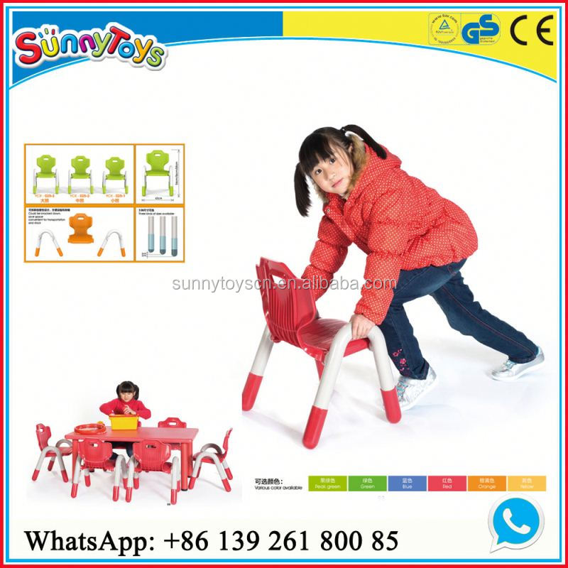 Daycare furniture children table plastic