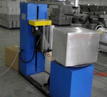 Small carton box shrink wrapping machine for small package