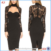 Chinese supplier lace back sexy girls without any dress ladies fashion dresses with picture