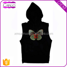 Cheap Sleeveless T-Shirts Singlets With Hood Customized