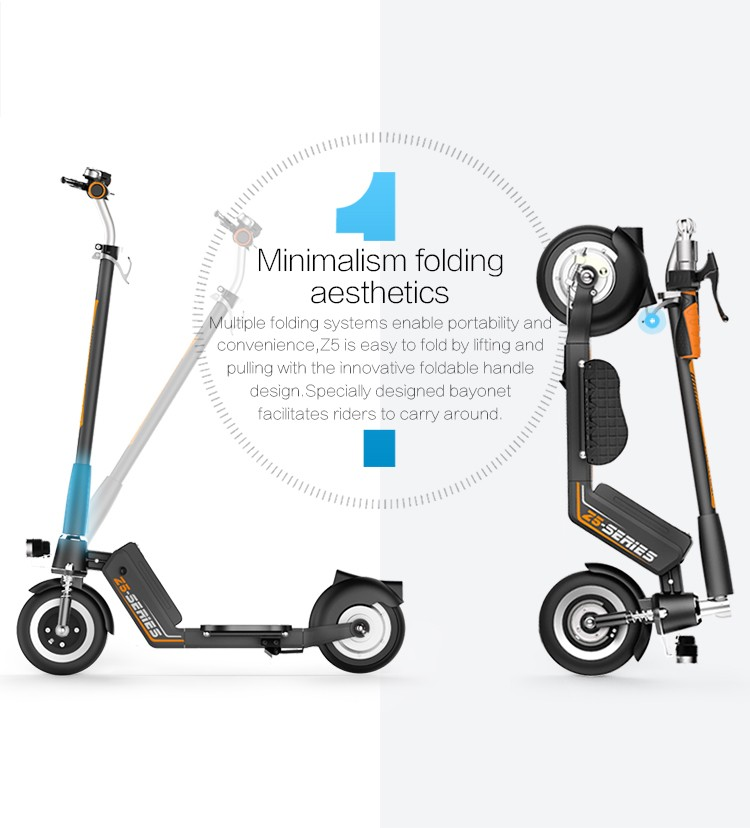 high quality folding e scooter mini foldable e-scooter from airwheel factory
