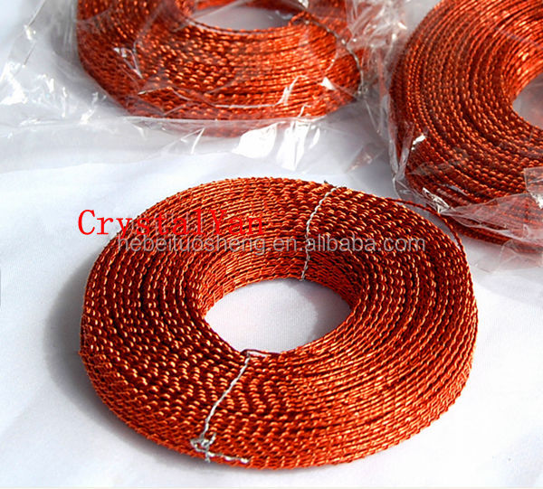Twisted wire for mechanical sealing wire,Meter security seal wire,water meter wire for seals