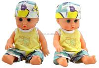 Custom PVC sleeping vinyl baby doll parts