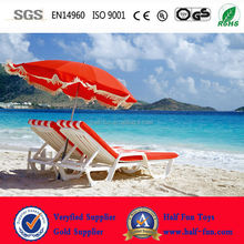 Plastic beach folding chair