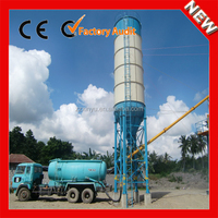 HZS25 concrete mixing plant with new type loading cement