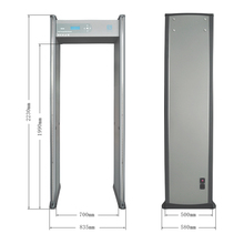 walk through metal detector for security Door pinpoint metal detector Model XLD-E(LCD) 18 zones and have waterproof function