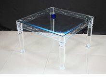Acrylic Modern Coffee Table Lucite Console Table wedding decorations