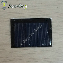 65*46mm 1.5V 200mA Epoxy Resin Solar Panel