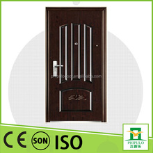 chinese house gate design fireproof standard anti theft steel door with high quality
