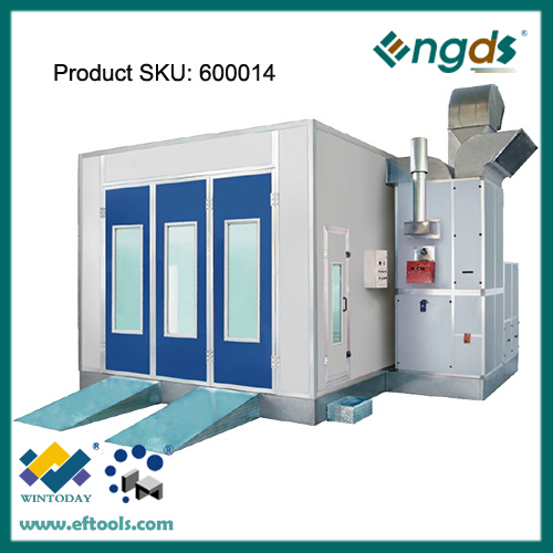 Normal size powder coating spray booth