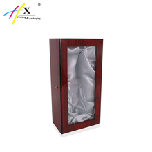 guangzhou clear acrylic top window wholesale wooden wine boxes