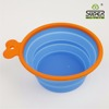 Cute Super Design Red Color Silicone Pet Dog Bowls