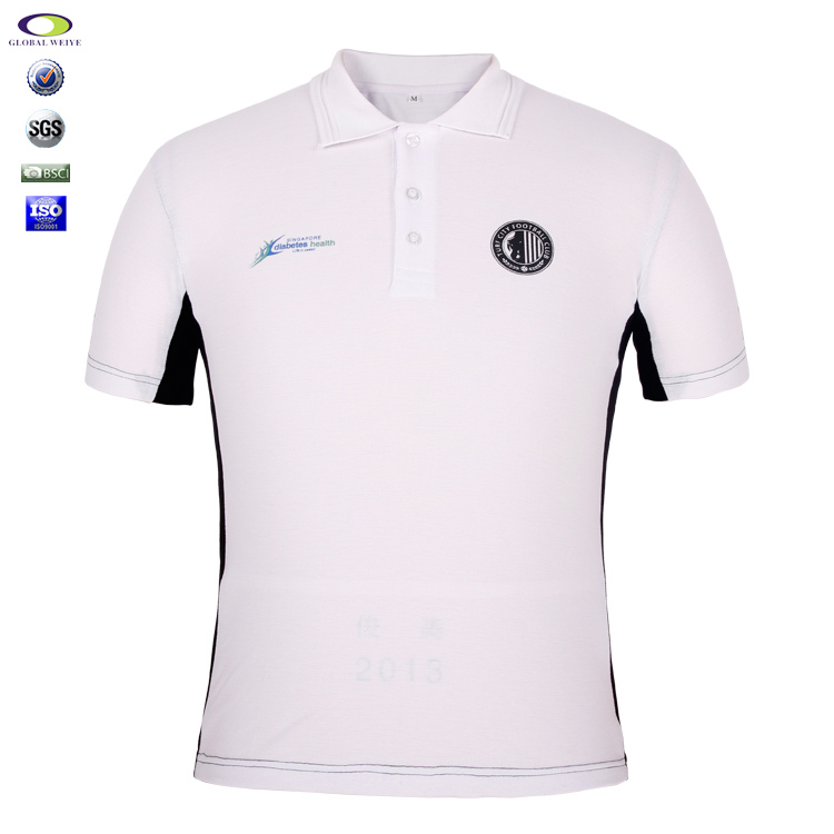 Custom New Design Bulk Polo Shirts 100 Cotton Printing Logo