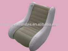 Pvc Inflatable Chaise Lounge,Flocked Lounge Sofa Chair For Sale