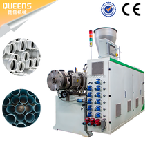 QUEENS plastic pressure PVC pipe making machine PVC pipe fabrication production line