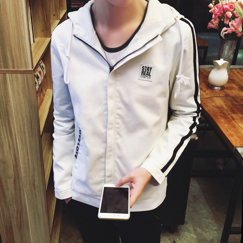 Alibaba Express China Men's Hooded School Uniforms Design Jacket