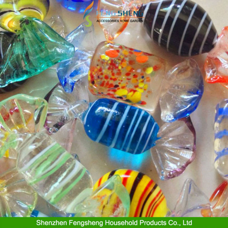 12pcs Vintage Murano Glass Sweet Christmas Xmas Tree Decorations wedding candy wholesale