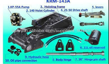 High quality Hydraulic cylinder hydraulic hoist KRM143 factory directly support Japanese dump truck spear parts