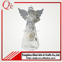 hot sale glass angel with small size for festival decoration