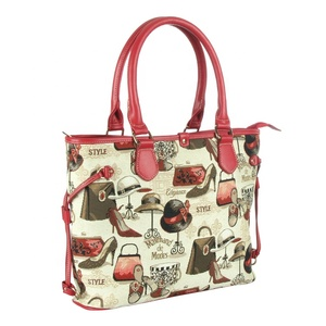 4afa299c8b Fashion Polyester with Printing Ladies Handbag