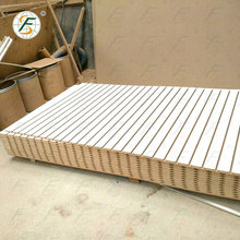 best price melamine mdf slatwall panels