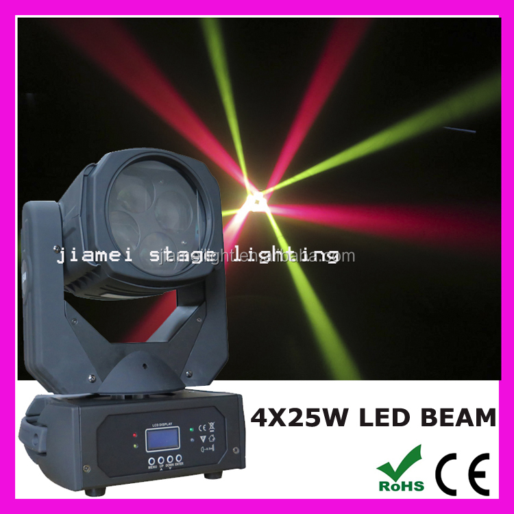4x25w super beam led moving head outdoor enclosure light