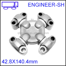 Construction excavator universal joints M42.8*140.4mm
