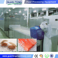 fish quick freezing machine tunnel for hilsa fish