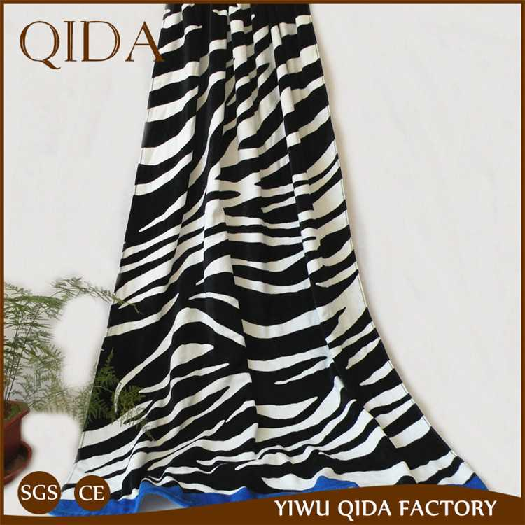 Qida Cheap Price Beach Towel Striped Beach Towel Clearance With Low Price