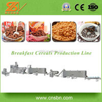 Fully Automatic Wholesale China Breakfast Cereal Cornflakes Process Line produciton machine