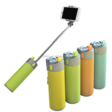 2016 New Multifunctional Selfie Stick Portable Power Bank Outdoor Wireless Self Timer Bluetooth Speaker