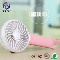 Unique new design portable usb fan rechargeable mini usb fan with emergency light