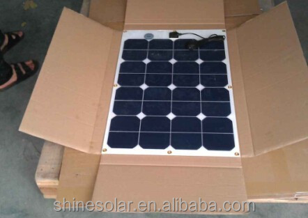 High efficiency amorphous silicon thin film solar panels 50w