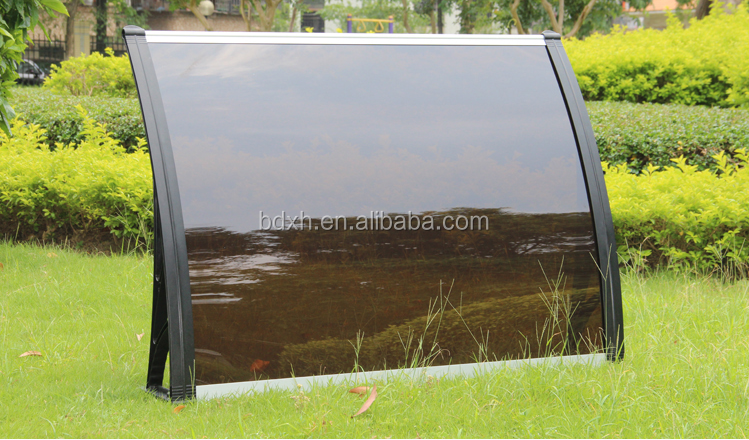 Outdoor Awning clear plastic window shelter canopy