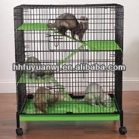 Portable Wire Bunny Rabbit Cage - Guinea Pig Ferret Chinchilla Hutch House
