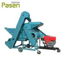 Made in china farm use automatic castor bean shelling/sheller machine