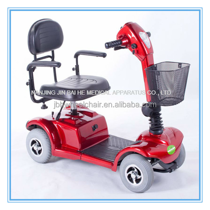 adult four wheels electric scooter with lithium battery