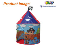 Hot selling easy assemble boy castle tent