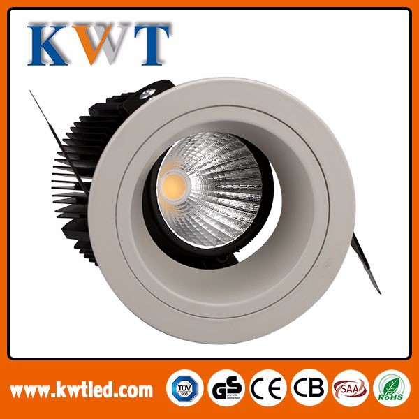 High quality Adjustable optical design 10w/12w/15w led wall washer hotel ceiling light