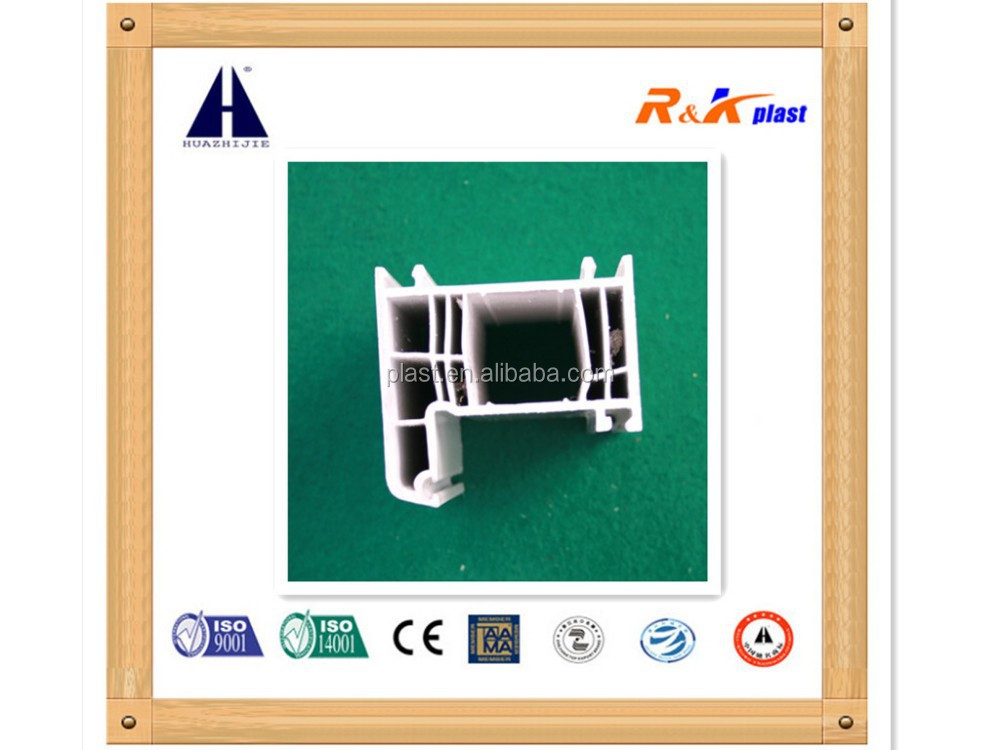 Hard plastic pvc profile for windows
