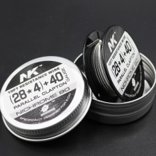 sheen 10ft 28ga 4 core fused clapton nichrome 80 wire coiled
