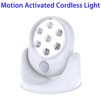 2016 Amazon New Arrival 360 Degree Motion Activated Cordless Light